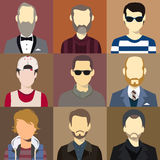 Vector del flash de Avatar de los hombres libre illustration