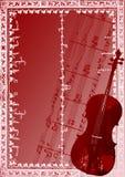 Vector del fondo de Chello Imagen de archivo libre de regalías