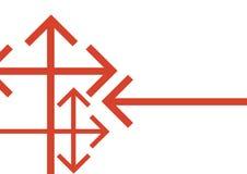 Vector del fondo de la flecha Fotografía de archivo libre de regalías