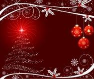 Vector del fondo de la Navidad Imagen de archivo libre de regalías