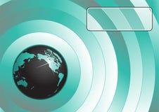 Vector del fondo del globo Foto de archivo