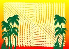 Vector del fondo del verano Imagen de archivo libre de regalías