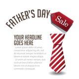 Vector del fondo EPS 10 de la venta del día de padres stock de ilustración