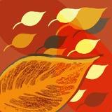 Vector del fondo del otoño Imagen de archivo