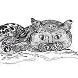 Vector del gato libre illustration