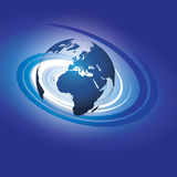 Vector del globo de Swirly libre illustration
