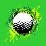 Vector del golf Imágenes de archivo libres de regalías