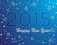 Vector del gráfico abstracto y del fondo del Año Nuevo stock de ilustración