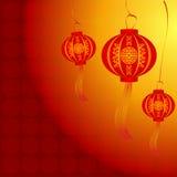 Vector del gráfico chino abstracto y del fondo del Año Nuevo Fotos de archivo libres de regalías