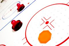 Vector del hockey del aire Foto de archivo