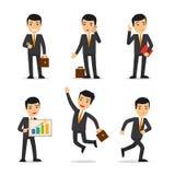 Vector del hombre de negocios stock de ilustración