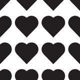 Vector del icono del corazón Símbolo perfecto del amor Emblema de la muestra del corazón aislado en el fondo blanco Modelo incons stock de ilustración