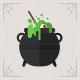 Vector del icono de la caldera Foto de archivo libre de regalías