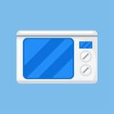 Vector del icono de la microonda Fotografía de archivo libre de regalías