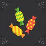 Vector del icono de los caramelos Fotografía de archivo libre de regalías