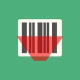 Vector del icono del código de barras libre illustration