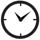 Vector del icono del reloj Foto de archivo libre de regalías