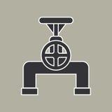 Vector del icono del tubo Fotografía de archivo