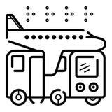 Vector del icono del viaje libre illustration