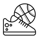 Vector del icono del voleibol ilustración del vector