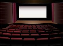 Vector del interior del cine