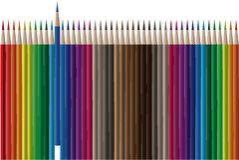 Vector del lápiz ilustración del vector