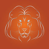 Vector del león Imagenes de archivo