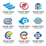 Vector del logotipo de la letra E libre illustration