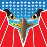 Vector del logotipo de los E.E.U.U. Eagle Imagen de archivo