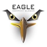 Vector del logotipo del águila calva Fotografía de archivo libre de regalías