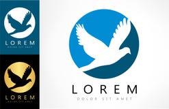 Vector del logotipo del pájaro stock de ilustración