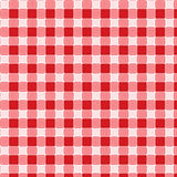 Vector del mantel de la comida campestre del modelo Imagenes de archivo