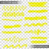Vector del marcador del punto culminante ilustración del vector