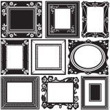 Vector del marco Foto de archivo