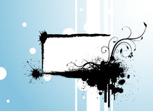 Vector del marco de Grunge Imagen de archivo libre de regalías
