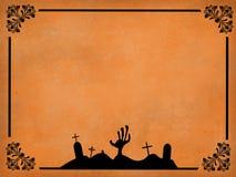 Vector del marco de Halloween Foto de archivo libre de regalías