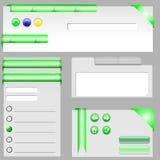 Vector del marco del diseño web Imagenes de archivo