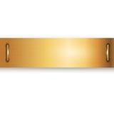 Vector del metal del oro Fotos de archivo libres de regalías