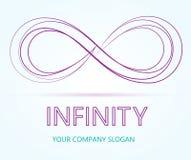 Vector del negocio del logotipo del infinito Imágenes de archivo libres de regalías
