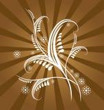 Vector del ornamento Foto de archivo libre de regalías