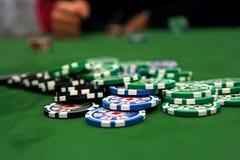 Vector del póker Fotografía de archivo