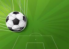 Vector del partido de fútbol libre illustration