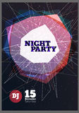Vector del partido de la noche Foto de archivo