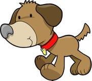Vector del perrito del perro Fotografía de archivo