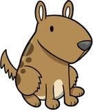 Vector del perrito del perro Imagen de archivo libre de regalías