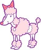 Vector del perro de caniche stock de ilustración