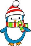 Vector del pingüino del día de fiesta stock de ilustración