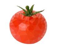 Vector del polígono del tomate Fotos de archivo