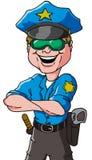 Vector del policía Imagenes de archivo