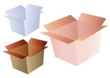 Vector del rectángulo de envío Foto de archivo